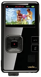 Creative Labs Vado HD 4GB Pocket Video Camcorder 2nd Generation (Black Gloss) (Discontinued by Manufacturer)
