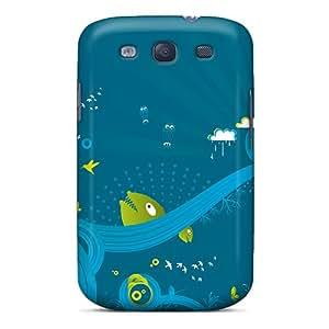 YDA4458wUzo DGENDS Whierd Durable Galaxy S3 Tpu Flexible Soft Case