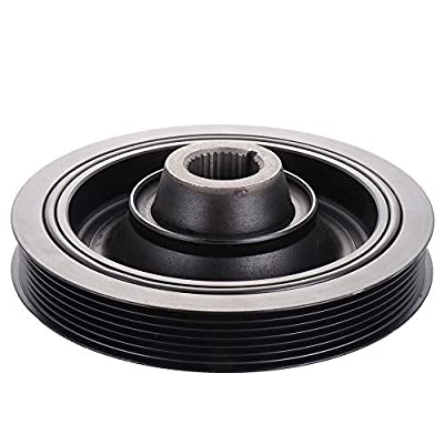 OCPTY Harmonic Balancer Crankshaft Belt Drive Pulley Fits 1997 Acura CL 1994-1997 Honda Accord 1995-1997 Honda Odyssey 1996-1997 Isuzu Oasis: Automotive