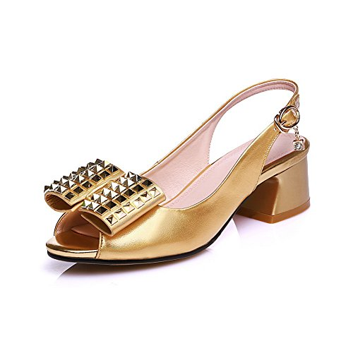 Marking Toggle Gold Urethane Womens AdeeSu Structured SLC03823 Sandals Non q1xE4