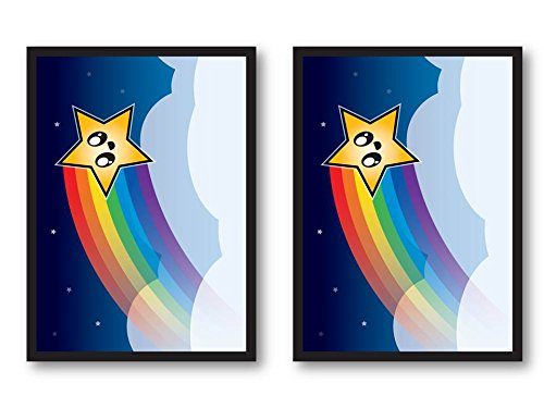 100 Rainbow Star Deck Protectors Legion Supplies Matte Finish Sleeves 2-Packs - Standard Magic the Gathering Size
