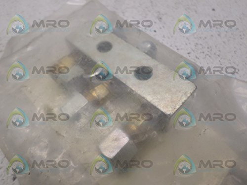Alemite 6135 Header Block, 3-Point Size, Length 2-3/4'', 1/8'' Female NPTF