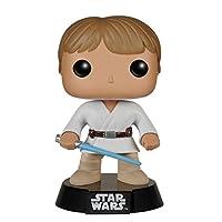 Funko POP: figura de vinilo de Star Wars Luke Skywalker Tatooine Bobble Head