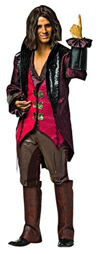 Rasta Imposta Men's Once Upon A Time Rumpelstiltskin, Red/Brown, X-Large (Rumpelstiltskin Costume)
