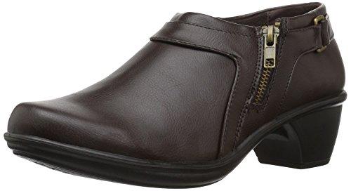 Easy Street Women's Devo Ankle Bootie Brown fake online hXDCe3VEGB