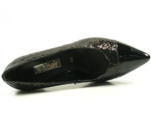 Gabor Shoes Fashion, Zapatos de Tacón para Mujer Schwarz