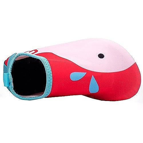 bf863d8f2968a WXDZ Kids Water Shoes Swim Shoes Mutifunctional Quick Drying Barefoot Aqua  Socks For Beach Pool