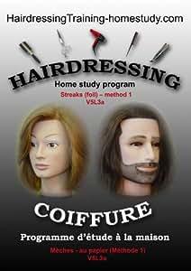 V5L3a - Streaks (foil) -method 1 -hairdressing training course