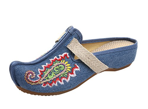Icegrey WoMen Clogs Blue