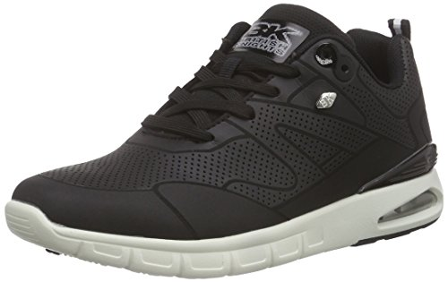 British Herren Schwarz Demon Sneakers 16 Black Knights ErBvr