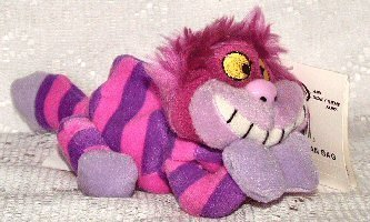 Disney Mini Bean Bag Cheshire Cat