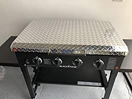Updated And Improved Made In Usa 36 Inch Blackstone Griddle Cover Lid Diamond Plate Aluminum Lid Storage Cover For 36 Blackstone Griddle Made In Usa Amazon Sg Lawn Garden