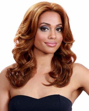 BOBBI BOSS Lace Front Wig - MLF38 UMBER (#4 - Light Brown)