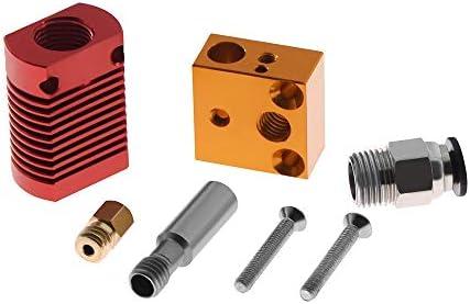 Wangdd22 CR10 - Kit de extrusor de calor (cabeza en J de metal ...