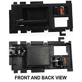 CHEVY S10 BLAZER 86-94 FRONT DOOR HANDLE LH, Inner, Black, w/ Black Lever