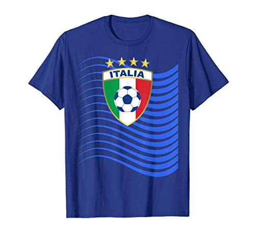 Italy Flag Emblem Soccer Jersey Womens France 2019 T-Shirt
