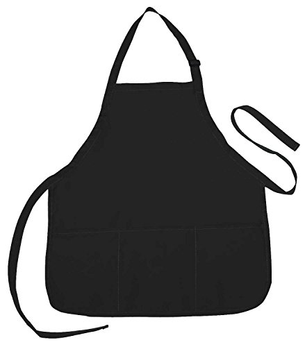 Kitchen Cooking Aprons Dress With Pockets (3#) - 3