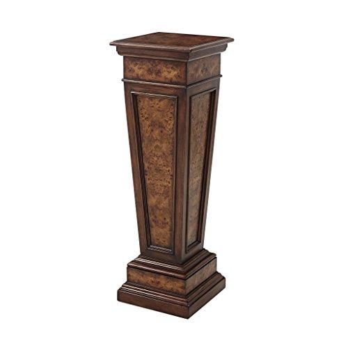 Louis XVI Style Style Burl Pedestal Stand