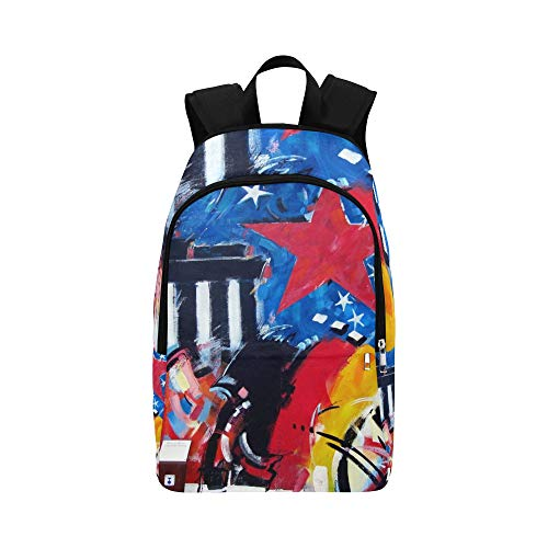Travel Graffiti Berlin School for Side Daypack Bag Mens Women Backpack College Berlin and Wall East Wall Casual Gallery qE7XctzfU