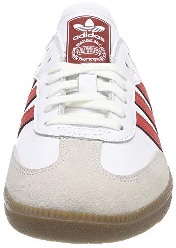Balcri ftwbla Escarl Hommes Pour 000 Samba Baskets Og Blancs Adidas w8T7n