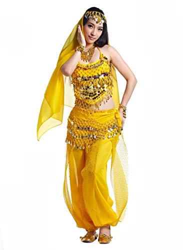 Adult Genie Outfit Bollywood Costume Accessories Belly