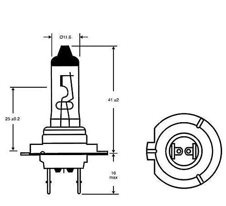 H7 Dipped Beam Landrover Freelander Headlight Bulbs 2004-2010 499 477