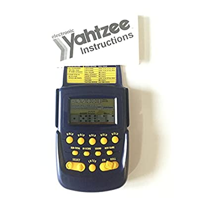 1995 Milton Bradley Radica USA Monte Carlo Yahtzee LCD Game Model#3905GB: Toys & Games