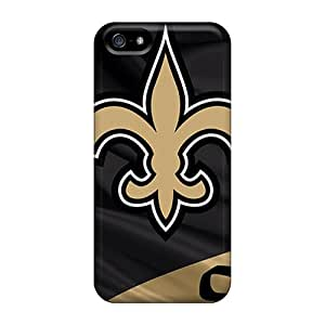 Fashionable Design New Orleans Saints Rugged Cases Covers For Iphone 5/5s New