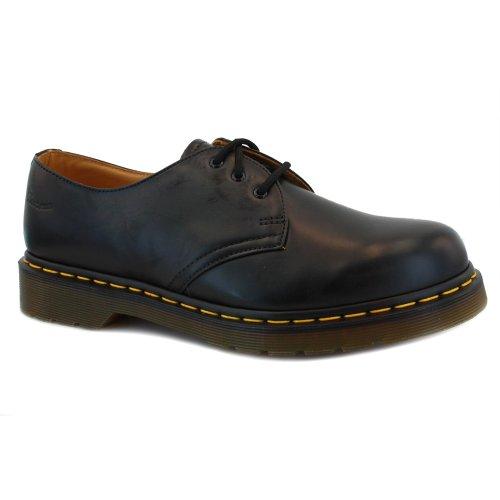 Dr. Martens 1461PW Chaussures de ville unisexe Noir (Black)