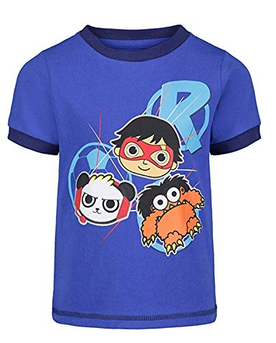 Ryans World Boys Iconic Graphic Short Sleeve Tee Shirts