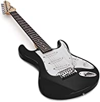 Guitarra Electrica LA 3/4 de Gear4music - Negro: Amazon.es ...