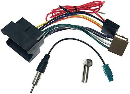 FEELDO Cable de arnés de cableado de audio estéreo ISO para ...