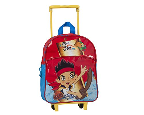 Jake & The Never Land Pirates 27891 Travel Trolley with Junior Backpack, 32 -