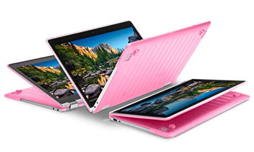 """iPearl mCover Hard Shell Case for NEW 13.3"""" Lenovo Yoga 720 (13) laptop (PINK)"""