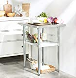 Rockpoint HX NSF Stainless Steel Commercial Kitchen Prep & Work Table, 30x24inch, Silver