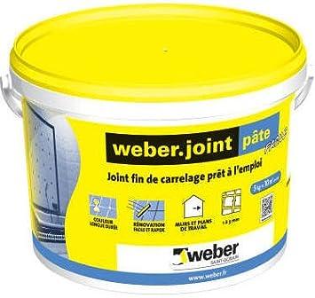 Jeune WEBER - Joint carrelage pâte pour mur et plan de travail Weber HH-36