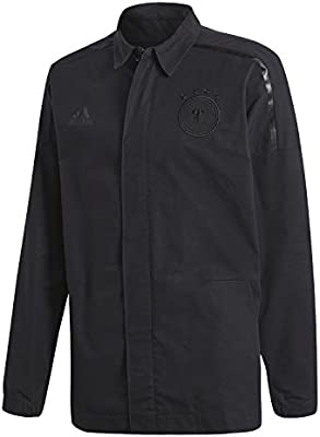 wholesale cost charm competitive price adidas Germany DFB ZNE Jacket Woven Medium Black: Amazon.ae