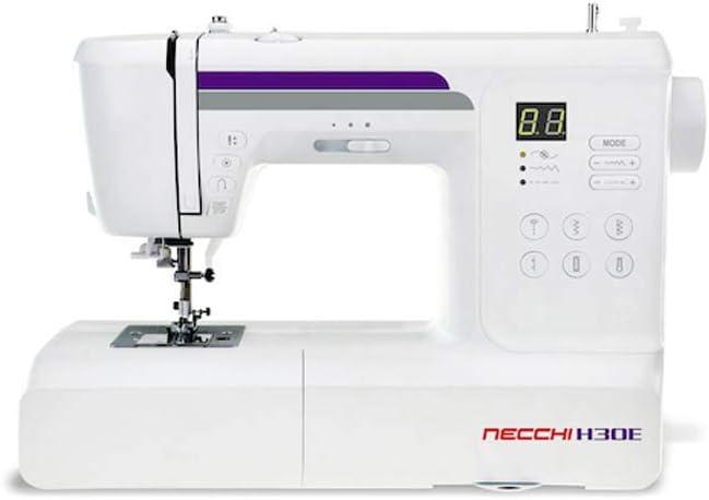 Necchi H30E - Máquina de Coser electrónica: Amazon.es: Hogar