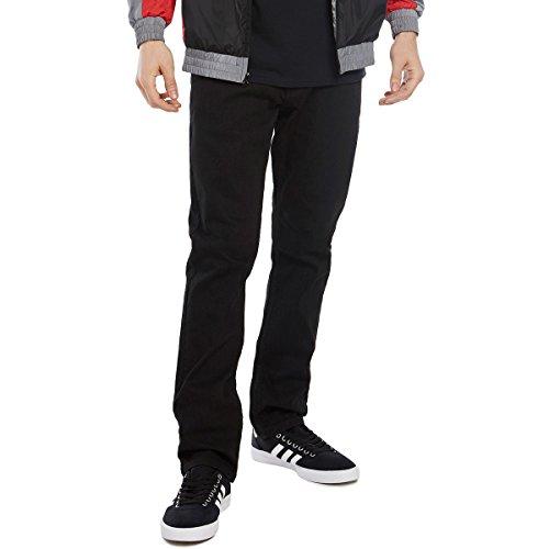 CCS Banks Slim Fit Men's Jeans with Comfort Stretch - Black - 34 X 32
