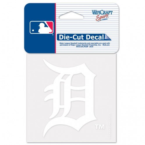 Detroit Tigers Decals (MLB Detroit Tigers 61097013 Perfect Cut Decal, 4