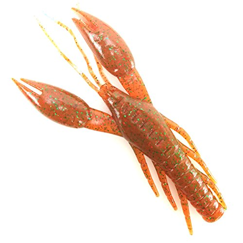 Craw Chunk Jerk Bait for Bass Crayfish Slow Sinking Lure hammer Crab clamp Shrimp 90mm 10g claw Bait artificial lure bait Swimbait Fake Fish Peche (Buff) - Chunks Crab