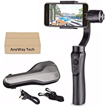 Zhiyun Smooth-Q Gimbal Stabilizer, 3-Axis Gimbal Stabilizer for iPhone X XR XS Pixel Smartphone Vlog- US Warranty (Renewed)