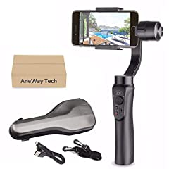 """Zhiyun Smooth-Q Multi-function 3 Axis Handheld SteadyGimbal with 360 Degrees Rotation for all Smart Phoneswithin 6.0"""", including iPhone 7, 7 plus, 6s plus, 6s, 6 plus, 6,5S, 5C, SAMSUNG Galaxy S7 edge, S7, S6 edge, S6, S5, S4, SIII, Note 5, 4..."""