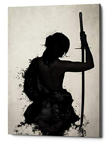 Cortesi Home Female Samurai-Onna Bugeisha Giclee Canvas Wall Art 18