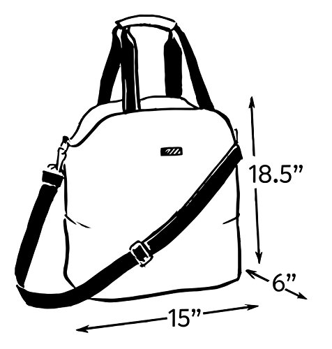 It Everyday Strap SCOUT Crossbody Oh Water Bag or Adjustable Resistant Gym Everyday Seaglass Buck Bag 48wEwqf