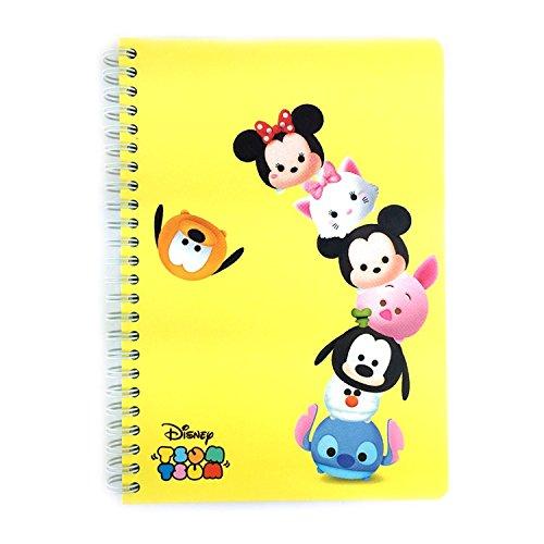 Disney Tsum College Spiral Notebook