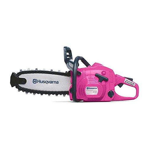 Husqvarna confined style and design Pretend play the game Pink Toy Chainsaw, develops your child's forester skills, realistic chainsaw engine sounds and moving sequence for additional pleasurable and activity Cheap For Month