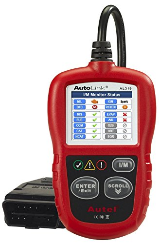 Autel AutoLink AL319 OBD2 Scanner Automotive Engine Fault Code Reader CAN Scan Tool