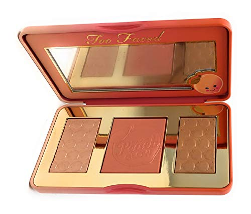 (Too Faced Sweet Peach Glow Peach Infused Highlighting Palette New Smells Like Peaches )