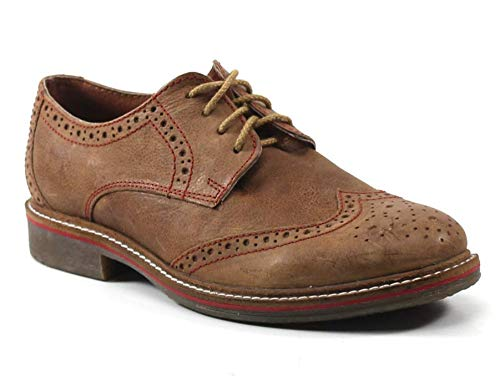 Testosterone Cap Stan Oxford Shoe, Tan Leather, 41 EU, 8 ()